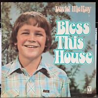 David McKay, boy soprano - Bless This House - LP record + CD-R backup