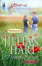 Heaven's Touch (The McKaslin Clan: Series 2, Book 2) (Larger Print Love Inspired