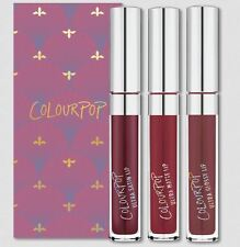 ❤ Colourpop Lipstick Trio Set in Can You Knot (hutch, notion, sookie) ❤
