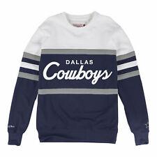 Dallas Cowboys Mitchell & Ness Head Coach Crew Neck Sweatshirt XXL
