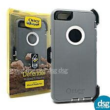 OTTERBOX DEFENDER COVER CASE FOR APPLE IPHONE 6+ 6s PLUS RUGGED HOLSTER GREY