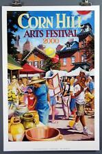 Corn Hill Arts Festival Rochester NY 2000 Poster Print Nick Angello