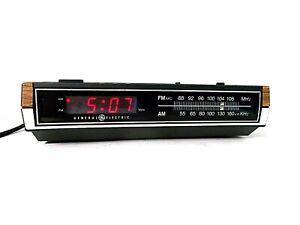 GE 7-4630D AM/FM Digital Alarm Clock Radio-Snooze-Battery Backup-WORKS FINE