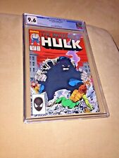 Incredible Hulk #333, CGC 9.6, White Pages