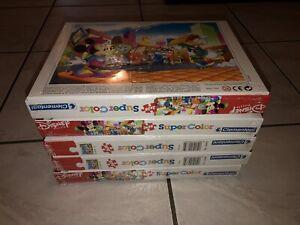 5x Disney Puzzle Wehnachtsgeschenk Paket 2x20 Ab 3 Jahre