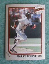 1990 COCA COLA CLASSIC 7 ELEVEN GARRY TEMPLETON #1 PADRES TEAM ISSUED CARD RARE