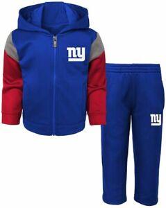 New York Giants NFL Toddler Full-Zip Jacket & Pants Set ~ NWT