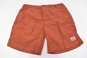 C.P. (CP) Company NWT Beachwear Boxer Swim Suit Size 48 S US In Burnt Orange