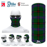 Baird Clan Scottish Tartan Multifunctional Headwear Bandana snood bandana