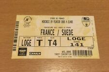 @ FOOTBALL - TICKET FRANCE - SUEDE AU STADE DE FRANCE - 09/02/2005 @