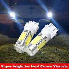 2X 7.5W Back-up Reverse Light 3157 White 6000K LED Bulbs for Ford Crown Victoria