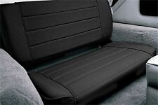 Smittybilt 8015N Standard Rear Seat Black Denim for 55-95 Jeep CJ & Wrangler