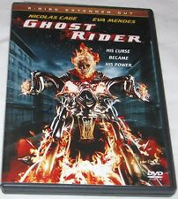 Ghost Rider DVD, 2007 2-Disc Set Extended Cut Nicolas Cage FREE SHIPPING U.S.A.