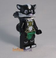 Lego Skinnet Minifigure from set 70107 Legends of Chima Skunk NEW loc029