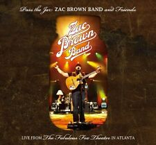 Pass The Jar-Zac Brown Band & Friends Live From Th - 3 DISC SET (2010, CD NUOVO)
