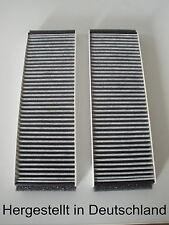 Satz Aktivkohlefilter Audi A6 ( C6, 4F2, 4FH, 4F5 ) Pollenfilter Innenraumfilter