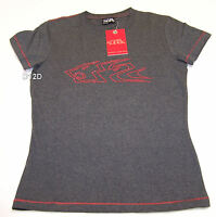Holden Racing Team HRT Ladies Charcoal Grey Short Sleeve T Shirt Size 10 New
