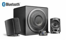 Wavemaster MOODY BT 2.1 Lautsprechersystem Bluetooth Streaming Boxen schwarz