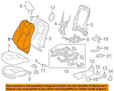 TOYOTA OEM 16-17 Prius Driver Seat-Seat Back Cover 7107447770C1