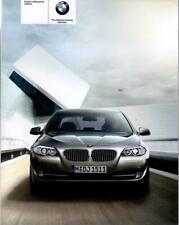 BMW 5er F10 Betriebsanleitung 2010 Bedienungsanleitung Handbuch Bordbuch BA