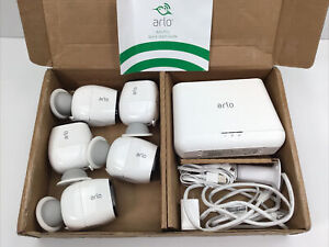 Arlo Pro, 5-Camera System, Wire-Free, HD Security Camera System (READ)