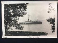 '30 SS Tuscania Ocean Liner Ship Old Original NYC New York City Photo T396