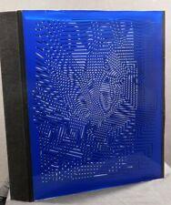 Vintgage Victor Vasarely  ZINT rare Sculpture Silkscreen print Plexi-Glass 3D