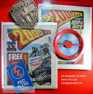 2000AD COMICS PICK PROGS YOU WANT BAGS AND BOARD & PROGS 1 - 2150 HALLOWEEN SALE