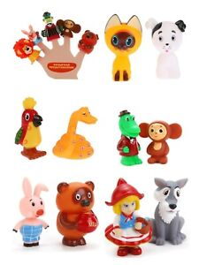 Bath toys Soyuzmultfilm Character Russian Cartoons Action figures Союзмультфильм