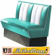 HW-120T American Diner Bench Seating Furniture 50´S USA Style Catering