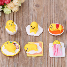 Gudetama Egg MIni Toy Figurine Action Figure New Japanese Anime Collection 6PCS