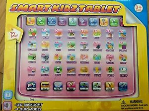 Toy Smart Kids Educational Musical Learning Games Tablet Ages 3+