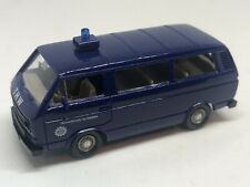 Wiking HO 1/87 Volkswagen T3 Kombi THW in Presentation Box