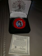 RARE ELVIS PRESLEY STATE QUARTER GENUINE TENDER LIMITED EDITION COIN WITH CERT