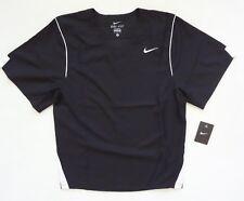 Nike para hombre FAST BREAK GAME JERSEY Lacrosse NEGRO TALLA S