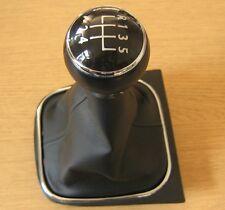 Pommeau de 5 Vitesses + Soufflet VW Golf 5 6 Tiguan EOS