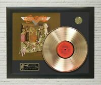 "Aerosmith Framed wood Legends Of Music LP Record Display #1. ""C3"""