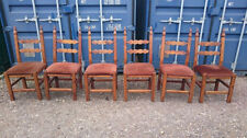 Teak Chairs with 6 Pieces