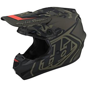 Troy Lee Designs Se4 GP Helmet TLD Mx Motocross Dirt Bike Enduro CAMO ARMY GREEN