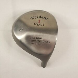 Trident Golf 1 Wood 10 degrees USA TOUR Professional 17-4 PH HEAD ONLY Excellent
