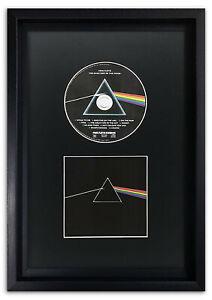 "Hoxton CD Picture Black Frame & Black Mount Memorabilia Wall Art Album 14x9"""