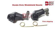 Honda Civic Wiper Washer Windshield Nozzle Spray Jet Pair 1992 93 94 95 96 97