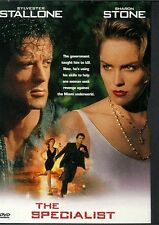 THE SPECIALIST SYLVESTER STALLONE SHARON STONE JAMES WOOD LIKE NEW SNAPCASE DVD