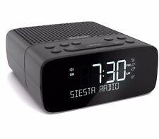 Pure Siesta S2 DAB + Digital Radio FM Bedside Alarm Clock - Graphite