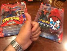 2 SPIDERMAN MAGNETIC  6 in. Figures FROM TOYBIZ