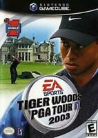 Tiger Woods PGA Tour 03 Nintendo Gamecube Game Used