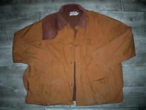 Vintage Red Head Blue Bill Duck Hunting Canvas Jacket Coat Men's Size XLarge