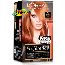 Loreal Preference Feria 74 MANGO Intense Copper Permanent Hair Colour Dye