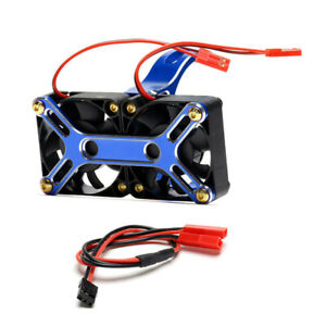 Cover Heat Sink Cooling Fan For RC TRAXXAS 1/5 X-MAXX ARRMA 6S 4985 1717 Motor