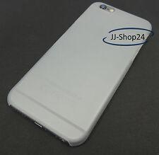 Schutzhülle ULTRADÜNN Hülle für iPhone 6 + Plus Cover weiß transparent 0,2 mm